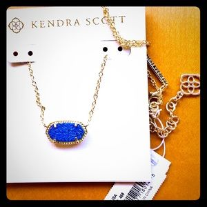 RARE Kendra Scott NEW INDIGO🔹Blue🔹Druzy